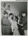 Photographs of Louis Armstrong off stage