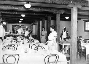 Atlanta Grady Hospital. Dining Room for African Americans