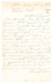 Joseph A. Dugdale correspondence, 1870