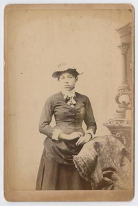 Unknown African American Woman in Hat