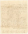 Statement by Daniel Sampson, a cashier, regarding payment for the hire of four slaves in Mobile, Alabama.