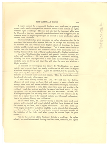 Clipping of book on Kimball Union