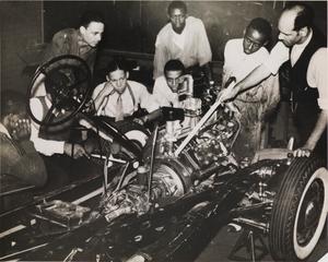 Student Mechanics (Hampton Institute, Hampton, Virginia), from the project The Negro in Virginia