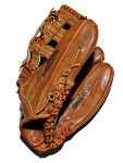 Glove used by Hank Aaron, Milwaukee Braves