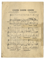 Coon! coon! coon! / words by Gene Jefferson music by Leo Friedman