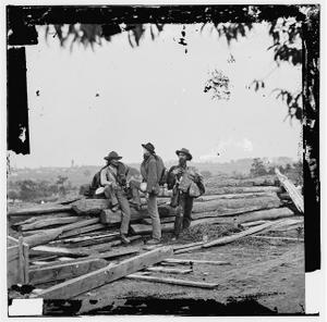 [Gettysburg, Pa. Three Confederate prisoners]