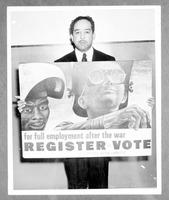 photograph of Langston Hughes