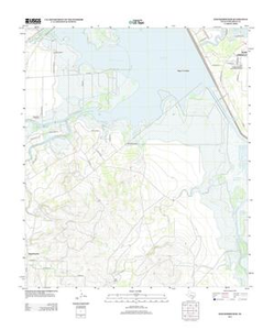 Knickerbocker Quadrangle Digital US Topo Maps: 7.5 Minute Series (Topographic)