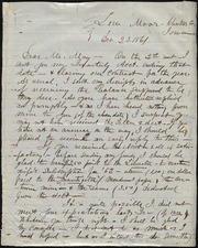Letter to] Dear Mr. May [manuscript