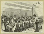 New York City, Thanksgiving Dinner At The Colored Orphan Asylum, Boulevard And One Hundred And Fouty-Third Street