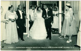 Harris -- Burroughs Wedding Reception Held at Home Eckers Hotel, Raleigh, N.C.