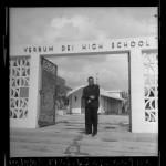 Joseph Francis, first African American priest to head Verbum Dei High School, Los Angeles, Calif., 1964