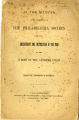 In the matter of the application of the Philadelphia Society for the Employment and Instruction of the Poor...