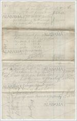 Statement of account of Ellick Squad with John Cocke, 1868-1869