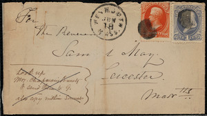 Letter from Maria Weston Chapman, Weymouth, [Mass.], to Samuel May, May 28th, 1877
