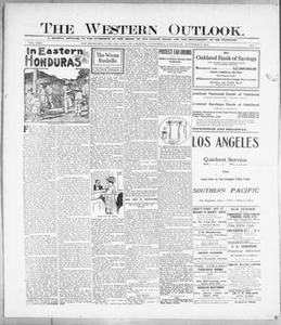 The Western Outlook. (San Francisco, Oakland and Los Angeles, Calif.), Vol. 22, No. 7, Ed. 1 Saturday, November 6, 1915 The Western Outlook