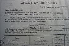 NAACP charter application
