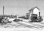 Station du Chemin de fer de Dakar a Saint - Louis