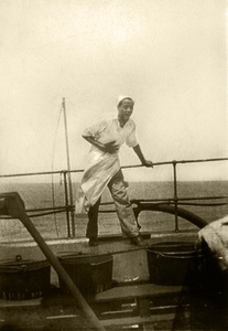15. 1931, Merle McCurdy Employed as a Cook on a Great Lakes Ore Ship