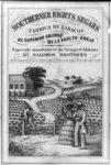 Southerner rights segars. Expressly manufactured for Georgia & Alabama by Salomon Brothers fabrica de tabacos de superior calidad de la vuelta-abajo.