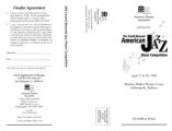 American Pianists Association Announces The Fourth American Jazz Piano Competition mailer