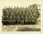 Brock's training platoon at Fort Leonard Wood
