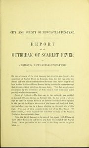 Report on an outbreak of scarlet fever in Jesmond, Newcastle-upon-Tyne.