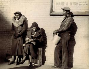 Make A Wish (Bronx Slave Market, 170th Street, New York)