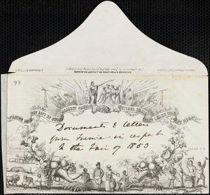 Letter from Richard Davis Webb, Dublin, [Ireland], to Mary Anne Estlin, 1853 Nov[ember] 2