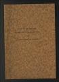 Studies, 1940-1960. 1940 Study. Summary, 1940. (Box 6, Folder 58)