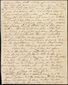 Partial letter from Caroline Weston, [Roxbury, Mass.?], to Maria Weston Chapman and Henry Grafton Chapman, 24th-25th [day of unknown month], [1841?]