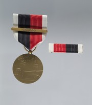 Army of Occupation Medal of Willie Amos Lary