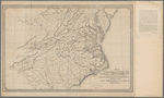 Map of Virginia and West Va., North & part of South Carolina, Maryland & Delaware, showing the situation in these states of schools taught by graduates of the Hampton Normal & Agricultural Institute from 1871 to 1876