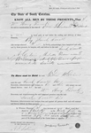 Bill of sale for mulatto man for $1000. Top reads 'The state of South Carolina...signed Henry Trescot