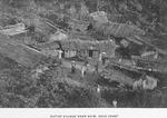 Native village near Axim, Gold Coast