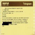 Telegram from Washington, D.C. student to Mayor Kevin H. White