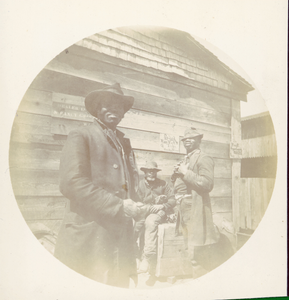 African-American Men, Southwest United States, ca. 1893