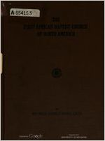 The first African Baptist church of North America