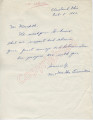 Mr. and Mrs. Ike Eisenstein to Mr. Meredith (8 October 1962)