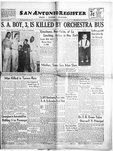 San Antonio Register (San Antonio, Tex.), Vol. 16, No. 34, Ed. 1 Friday, September 6, 1946 San Antonio Register
