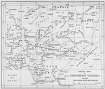 Sketch map of Northern Nigeria