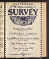 The Survey Midmonthly, September 15, 1932. (Volume 68, Issue 12)