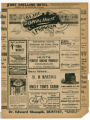 """Kidnapped in New York"" theater program, Bijou Opera House, Minneapolis, Minnesota"