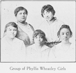 Group of Phyllis Wheatley Girls