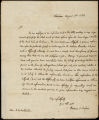 """Answers to interrogations concerning """"laws, usages & customs"""" of the Creek tribe of Indians, Aug. 10, 1832"""