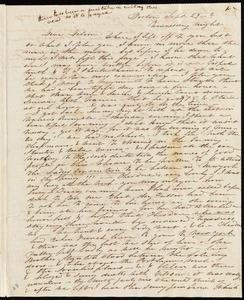 Letter from Caroline Weston, Boston, [Mass.], to Deborah Weston, Sept. 29, [1848?]