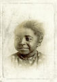 African American girl, portrait, cabinet card