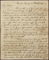 John Floyd letter to D. B. Mitchell, 1812