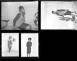 Set of negatives by Clinton Wright including debutants of 1964, Deloris Moody and Deborah Roberts, 1967