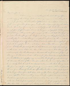 Letter from Harriet W. Hayden, New York, to Maria Weston Chapman, Jan. 19th, [18]43 [sic, 1844?]